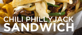 Chili Philly Jack Sandwich